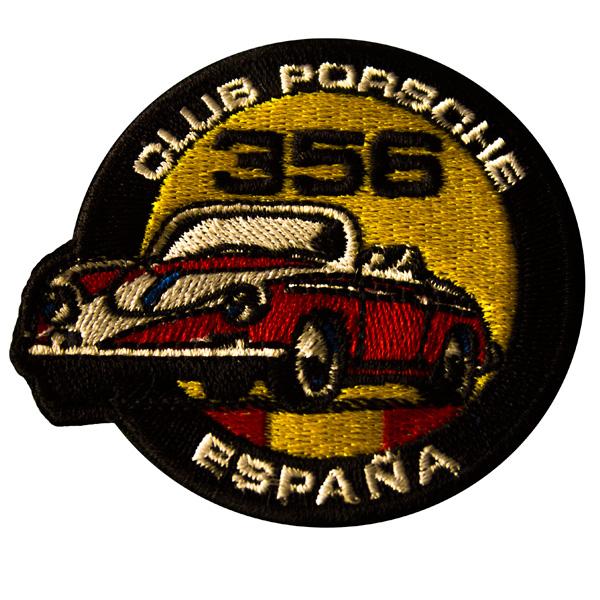 Escudo bordado Club Porsche 356
