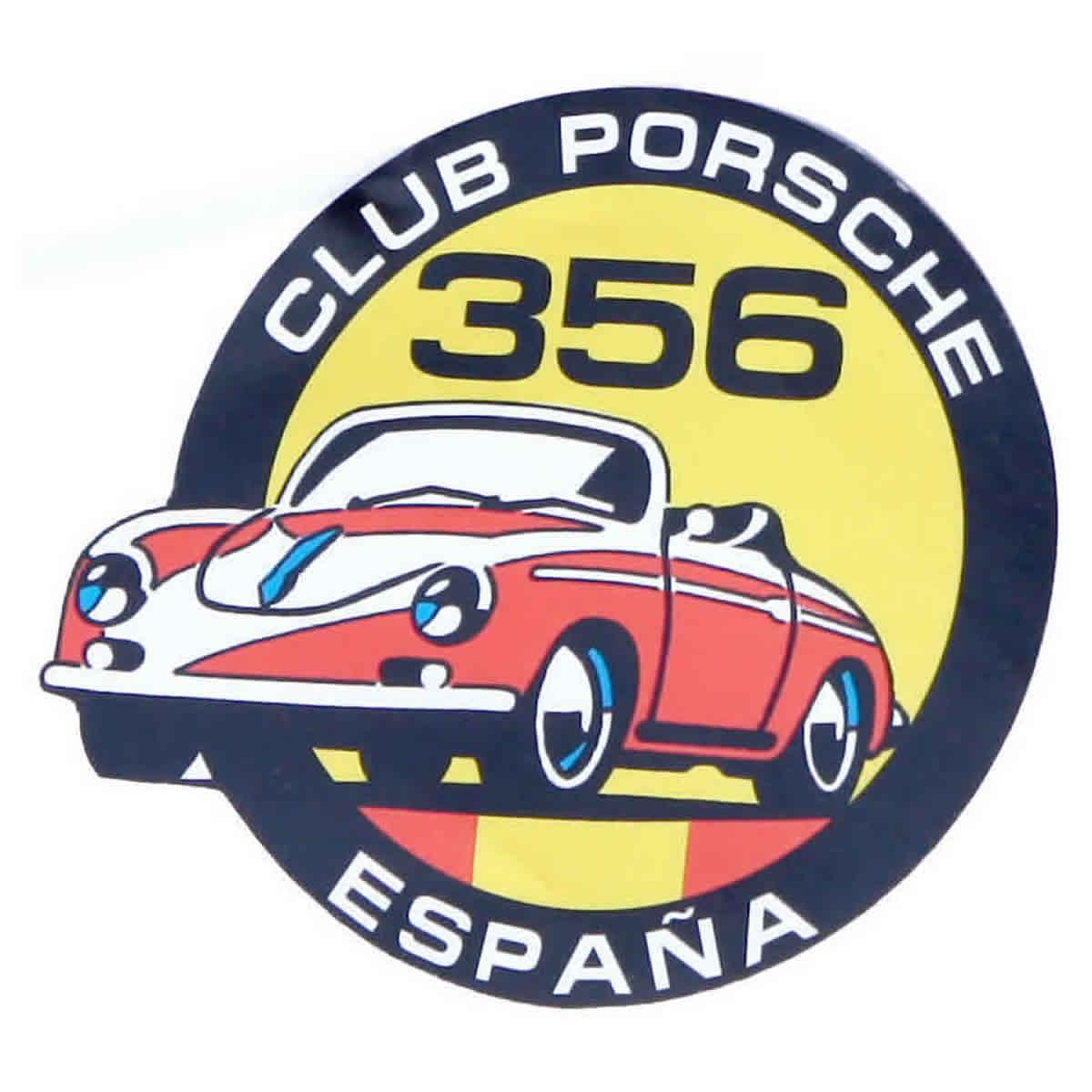 Pegatina Club Porsche 356