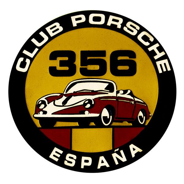 Placa Club Porsche 356